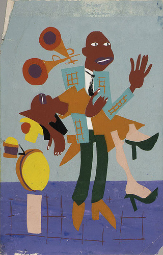 "William Henry Johnson, painter, was born in Florence, SC, on March 18, 1901. Johnson became the first Black artist to receive a ""Retrospective"" by the National Museum of American Art."