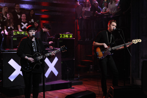 The XX at Jimmy Fallon, watch it here.