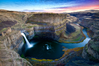 Palouse Falls, Washington State.