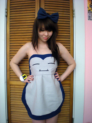 lookbookdotnu:  Snorlax dress  want that dress !