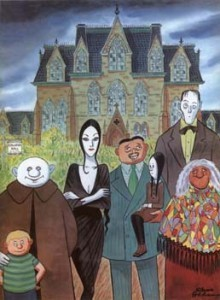 Tim Burton Next 3D Animated Film? Da Da Da, Da,  Snap Snap, `The Addams Family