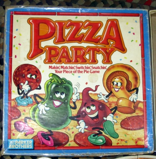 Pizza Party Game (Remembered by Katelyn G.)