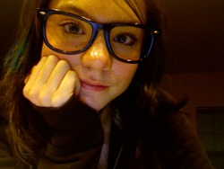 I love my nerd glasses.<33