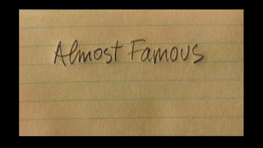 movietitlecards:  Almost Famous (2000) // Cameron Crowe  (via movietitlecards)