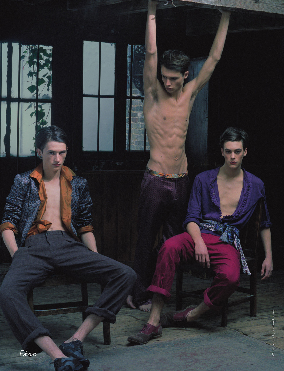 psycic:  kingslayer-:   Jacob, Saul, Jonas | ph: Mel Bles   (via blueheadlights)