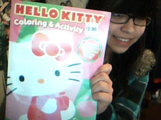 hello kitty coloring book Submitted by kittyg