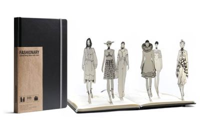 'Fashionary', is claiming to be the world's first sketchbook designed and tailored for fashion designers. Read about it's features here.