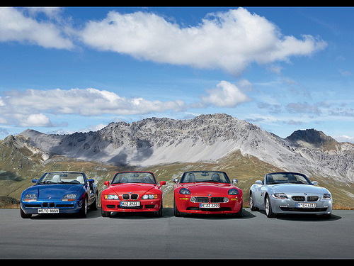 Zaibatsu Starring: BMW Z1 Z3 Z8 Z4 (via CommonObjects)