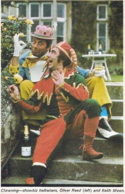 fuckyeahkeithmoon:  Keith and Oliver Reed