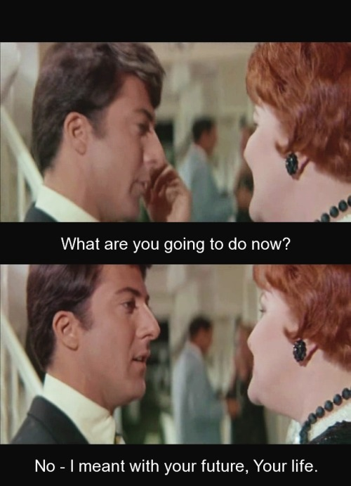 foralskelse:  The Graduate, 1967 - Mike Nichols