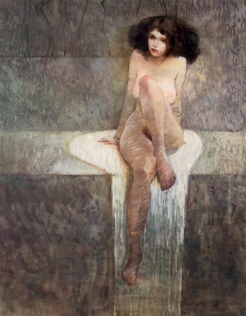 "graindebeaute:  Jeffrey Jones, Book: ""Age of Innocence"" 1994     (via intoaethyr)"