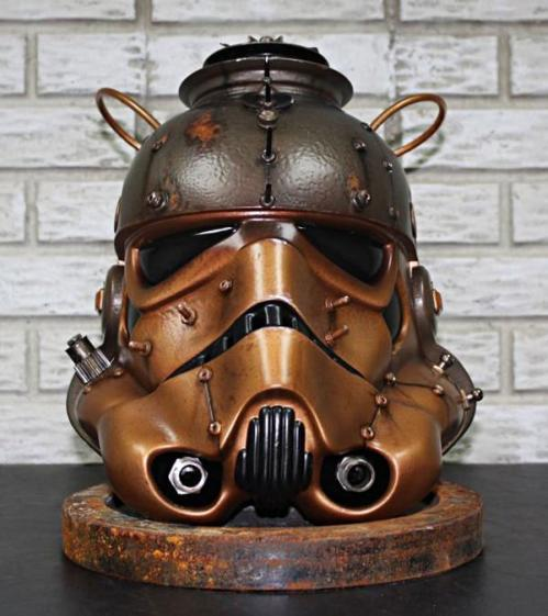 Steampunk Stromtrooper Helmet Is a Boon for Star Wars Fans | Walyou