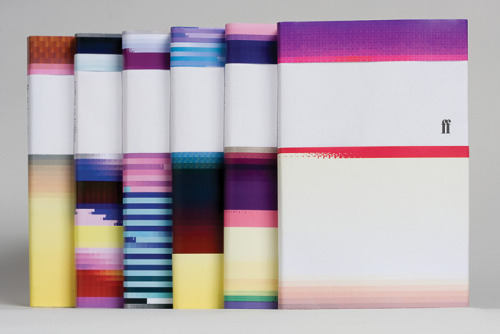 jittodesign:  ritadesigndays:  Inspired by the phenomena of a visual glitch, the design utilizes a logarithm that translates the title and section into a distinct graphic pattern. via hellosubsist(via purestform)