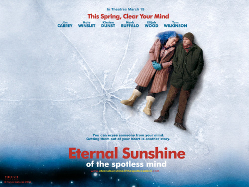 Eternal Sunshine of the Spotless Mind Diretor: Michel Gondry. Roteiro: Charlie Kaufman. Best Movie Ever