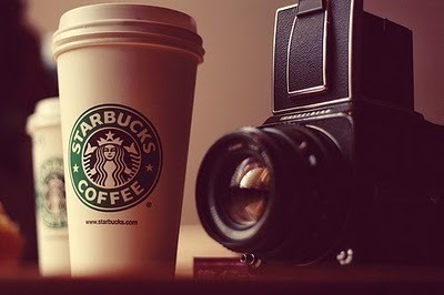 Two things I love. PHOTOGRAPHY + STARBUCKS.