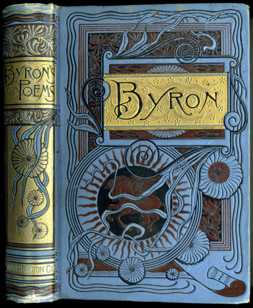 aubade:             The Poetical Works of Lord Byron 1887 (via crackdog)