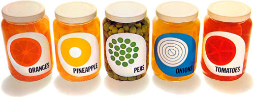 Vintage packaging Ten years before the rise of the supermarket generic brand, Champion Papers produced these colorful packaging designs for a series of print advertisements. http://containerlist.glaserarchives.org/index.php?id=79