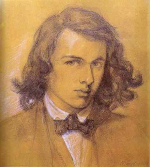 Self-Portrait of Dante Gabriel Rossetti, 1847. (via)