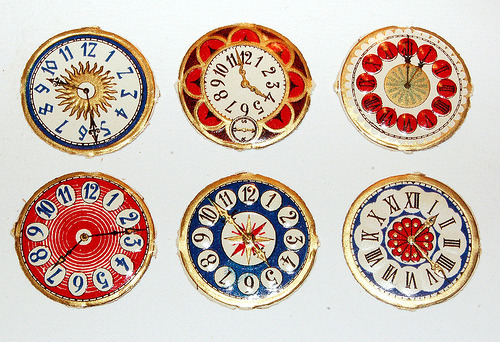 everybell:  Paper clocks, via Katwood.