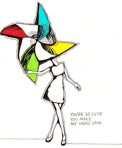 by Sirin Thada via Blog: Life Is Really Funny Sometimes - Doodlers Anonymous