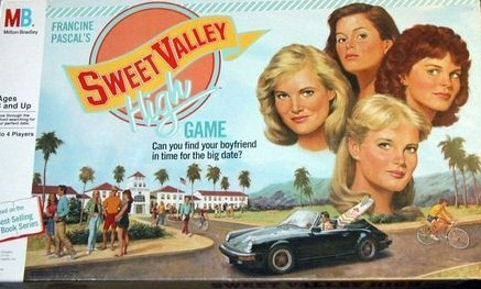 Sweet Valley High Board Game