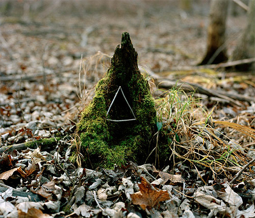 Andy Goldsworthy tribute by Jacob Wolf Miller