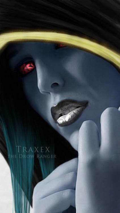 gorgeous traxex… my favorite hero… :)