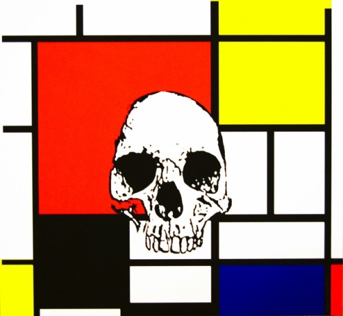 Urbanartdisplay, 'Mondrian'  Fantastic screen printed image from Urbanartdisplay. Beautiful, sharp print on laminated aluminium panel (approx 3mm thick).  35 x 38cm £200  visit: pureevilgallery.arloartists.com/portfolios/31041-bhopal-m…  or contact: colintoogood@bhopal.org for more details
