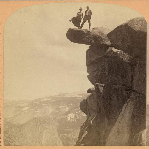Geo. W. Griffith ~Glacier Point, Yosemite Valley, Cal.c.1902