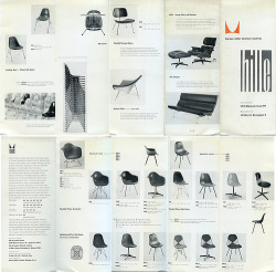 re-vu:  geometriques:  shiro-absence:lay-out:karenh:a vintage Herman Miller brochure (via matte stephens)