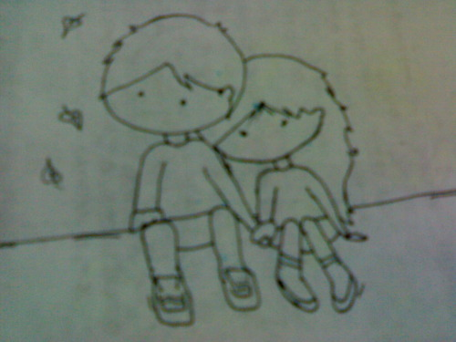 mar.28,2010(sun.) project 84/365doodle.just missin' my love.we did not get to chat with each other because their internet connection was cut off. it has been six days now since our last chat.—————————————————————update!I just chatted with iara moments ago!thank God for wifi in their church! :)I hope they will get their internet connection back. :(