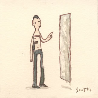 "scottlava:  ""I got some bad ideas in my head."""