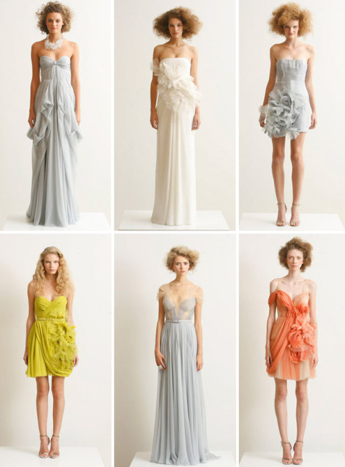 fashionfever:  sprinkletwinkles:  Such cute dresses!