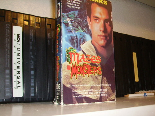 dunderhanh:  Mazes and Monsters… the story of how Tom Hanks destroyed his friends lives by playing a knock-off of Dungeons and Dragons