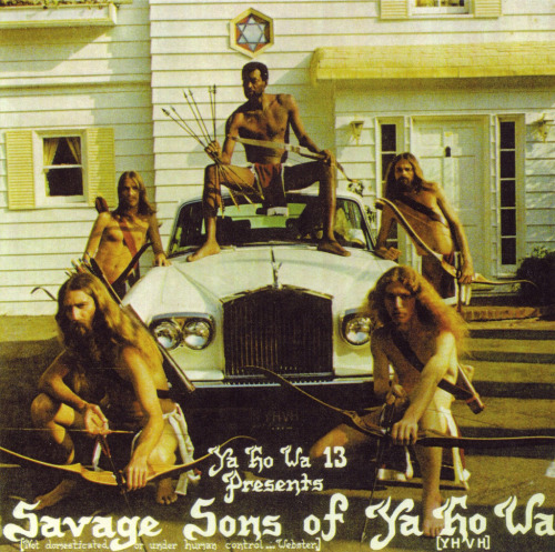 Album Cover: Savage Sons of Ya Ho Wha. Father Yod. 1974.