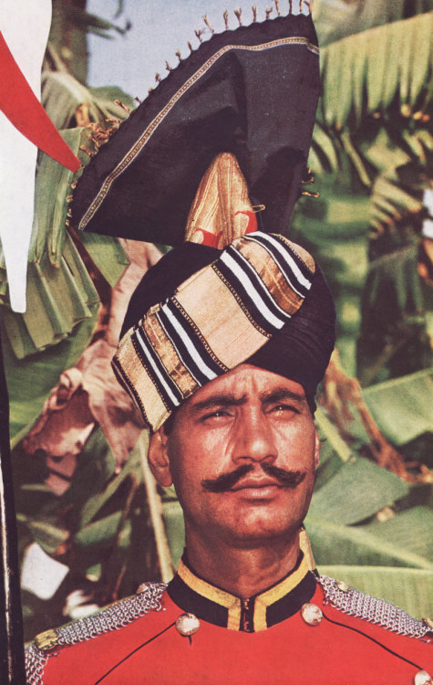 Pakistani military hat circa 1960  Source: Portland State University library image archive