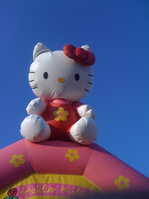 Hello Kitty Bounce House Jumper Submitted by ayeeitslori