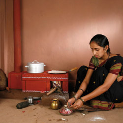 Stove designed to reduce smoke inhalation deaths in developing world winner of 2009 Index Award.