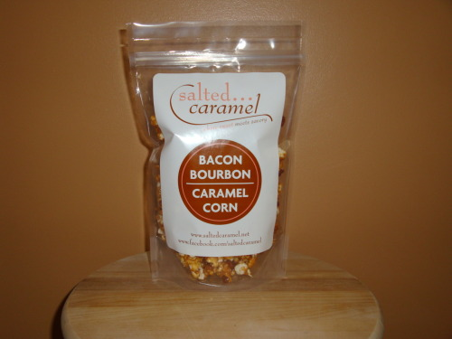Bacon Bourbon Caramel Corn Available at saltedcaramel.net Submitted by Jeannie Sherwood