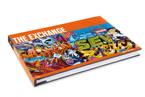 The Exchange mural in SF will be on the cover of The Exchange Book http://thegraffitiexchange.blogspot.com/2010/03/exchange-book-preview.html  Only $14 on Amazon http://www.amazon.com/Exchange-Here-Fame-Publishing/dp/3937946659   Release date: Apr 9