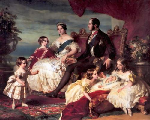 my-ear-trumpet:  19thcentury:         Queen Victoria and her family
