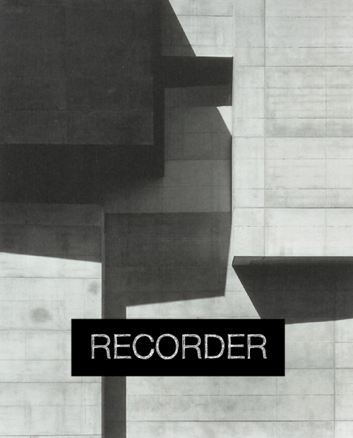 RECORDER- - - - -Digital profilFor RECORDER