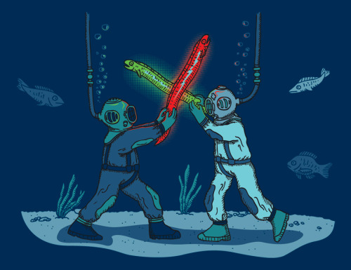 gamefreaksnz:  May The Fish Be With You (via wanderingbert) The deep side of the force?