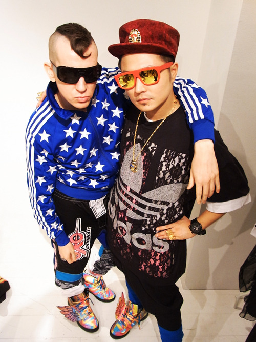"zockon:  Jeremy Scott for ADIDAS ""O by O"" - feat. VERBALの画像 