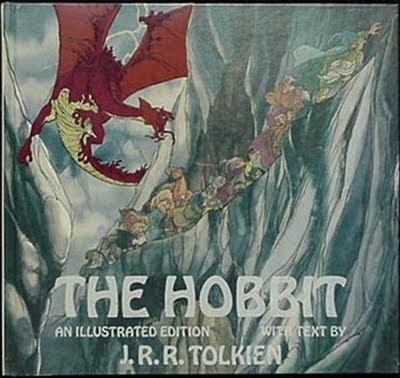Huge Illustrated Hobbit Book