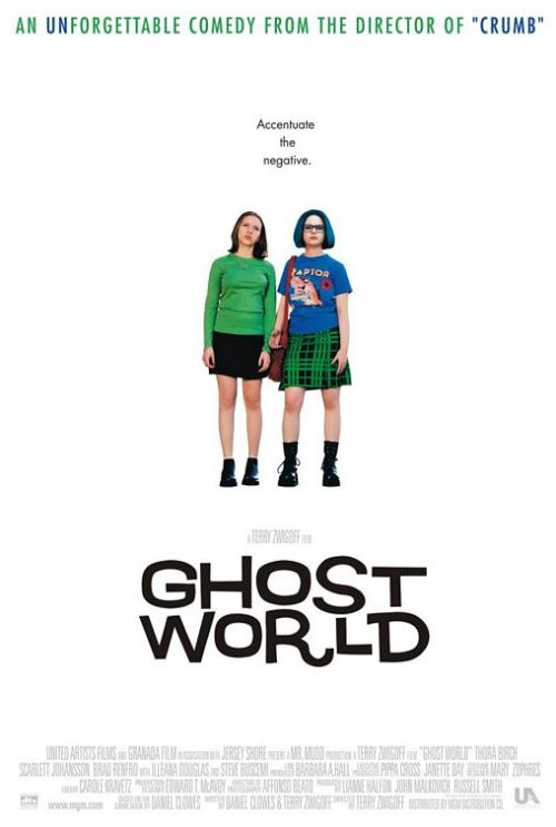 foralskelse:  Ghost World - 2001 (click through to watch although it takes a while to load)