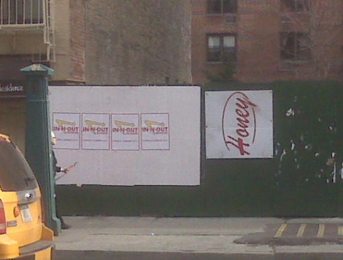 There are signs that say we're getting In N Out this summer (14th St btw 7th-8th Aves). Is this true?!