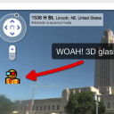 3D glasses in Google Maps Street View! Woah, this is cool. Now I need some 3D glasses so I can try this. I wonder if this is a permanent thing or an April Fool's joke?