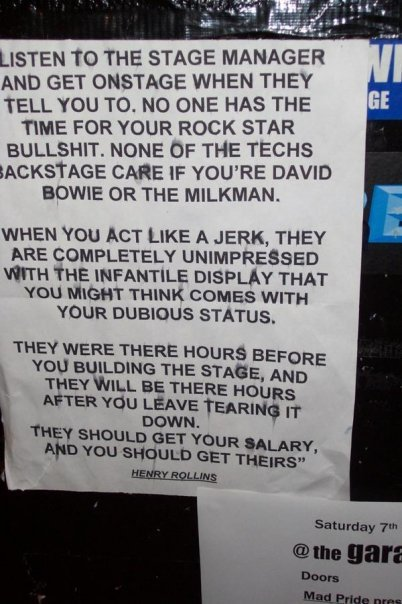thedailywhat:  Henry Rollins Badassery of the Day:  This is some Grade A inspirational cross-stitch material right here.