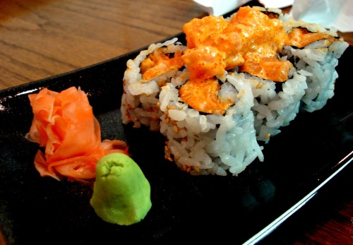 One of THE best things I ever ate. Epi 1. Spicy Salmon Roll. HANDS DOWN one of the best rolls I've ever had. Specifically from Maru! They cube the salmon, not mush it up like most places do. You can taste every bit of fatty salmon in this indescribable texture. They combine the cubed salmon with fish roe and spicy mayo. I also love how they take the extra salmon and top it off of the roll. Maru. East Brunswick, New Jersey.